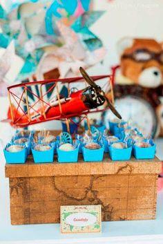 Festa Avião Bella Fiore - Airplane Party Bella Fiore