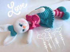 Crochet Bear, Crochet Hats, Etsy, Christmas Ornaments, Holiday Decor, Pattern, Rabbits, Bears, Mini