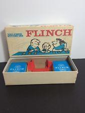 Vintage 1963 Flinch Card Game Parker Brothers Complete