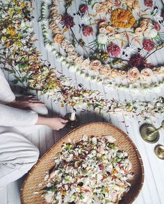 ・・・ Creating flower Mandalas, rituals, and sacred spaces. Time to Create our Own Magick. Images Esthétiques, Magick, Witchcraft, Photo D Art, Witch Aesthetic, Beltane, Flower Mandala, Medicinal Plants, Herbal Remedies