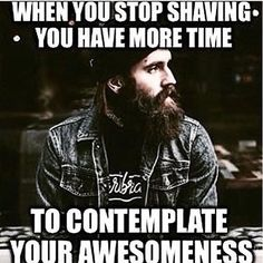 Having a beard only adds to that awesomeness! Beard on brothers and check out the link in the bio for the best beard care products known to man.  #beard #bearded #beardlife #noshave #beardnation #beardon #beardgamestrong #yeard #keepcalmandbeardon #beards