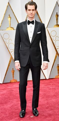 2/26/17 - Andrew Garfield at the 89th Annual Academy Awards in Hollywood.