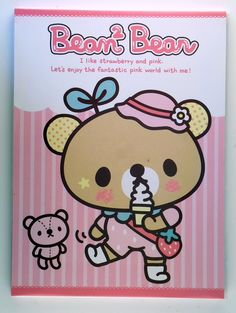 """""""Bean 2 Bean"""" kommer som blokk og inneholder 72 brevark i fire forskjellige sukkersøte design, litt mindre enn A5 i størrelse. Kjempesøt - jeg elsker denne! :D"""