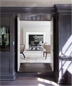 ** Greenwich Residence (Mag)- Living Room #6 (View from study) **     ::Tiffany Eastman Interiors, LLC::