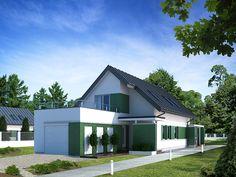 Projekt domu MT Ametyst NF40 - DOM ST9-88 - gotowy projekt domu