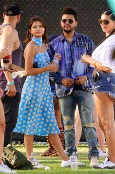 Looks do Coachella 2017 | Eu, Capitu Selena Gomez E THE WEEKEND