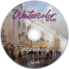 Watercolor Artist 2012 Annual CD on sale for $10 (through 1/31/13) at  NorthLightShop.com. #DigitalSale