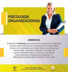 psicologia organizacional - liderança