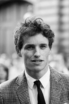Eddie Redmayne - okay I just have to say that his freckles are just really cute.