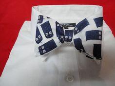 Tardis Bow tie by sewfairycute on Etsy, $22.99