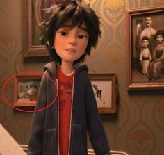 "Here Is The Cutest Easter Egg You Missed In ""Big Hero 6"""