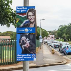 NSPCA Election Poster Hacking.