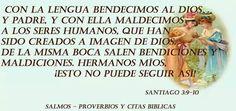Santiago 3:9-10