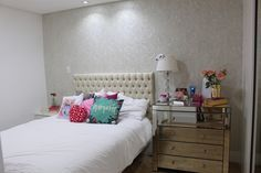 Quarto clean e charmoso, by Niina Secrets.