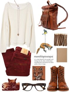 """""""Outfit 96: Foxy"""" by red-head426 ❤ liked on Polyvore"""