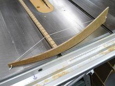 Asymmetrical Arch Drawing Jig / Gabarit de traçage de courbes asymétriques