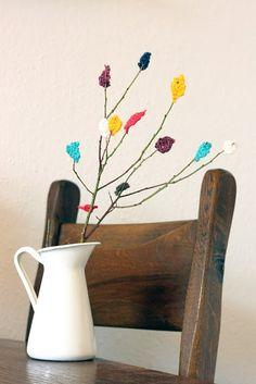 yarn branches #DIY #yarn #craft