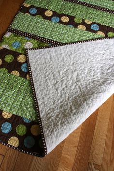 Clean and simple boy quilt