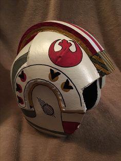 Cosplay.  DIY Foam Helmet. Star Wars Helmet.  Luke Skywalkers Helmet. EVA Helmet. Made by McNabb