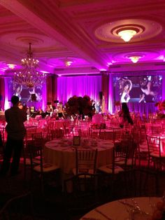 Spectacular #uplighting at this amazing #sorority #party! #diy #rentmywedding #events #sweet16 #quinceanera #barmitzvah #batmitzvah #prom #homecoming #graduation #babyshower #corpevent  #fraternity #gogreek #TSM #TFM #addachaptertoyourlife #panhelleniclove #panhellenic #cpc #formal #bride #wedding #planner #event #planning #celebration #lighting by @evantinedesign