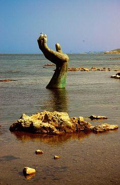 Hand Of Harmony, Homigot, Korea by Rhinosaurus, via Flickr