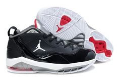 pretty nice b1467 6f581 Jordan Melo Black Grey Red Jordan III 3 Basketball Shoes website full of  shoes for off · Nike ...