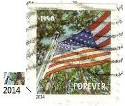 Selos - Stamp Collecting: 2014 - Estados Unidos / United States