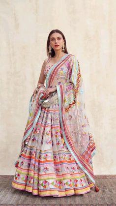Indian Bridesmaid Dresses, Indian Bridal Outfits, Indian Fashion Dresses, Indian Designer Outfits, Wedding Dresses, Wedding Wear, Designer Clothing, Lehenga Choli Latest, Ghagra Choli