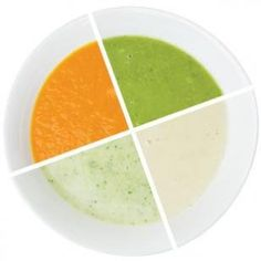 Soup simplified: 1 easy recipe, 4 delicious soups (R) Vegetable Puree Soup, Vegetable Soup Recipes, Healthy Cooking, Cooking Recipes, Blender Recipes, Fast Recipes, Chili Recipes, Healthy Eats, Pureed Soup