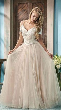 Featured Dress: Jasmine; Wedding dress idea.