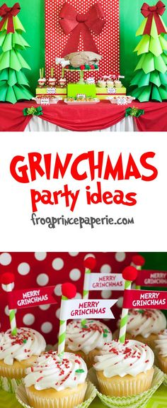 Grinchmas Party Ideas for all the Whos in Whoville!
