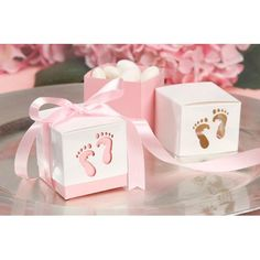 Bulk Buy: Darice DIY Crafts Favor Box Baby Feet Pink 2 x 2 x 2 inches 12 pieces (3-Pack) 1404-068 * Check out the image by visiting the link.