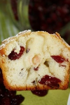 Lemon Cranberry Muffins