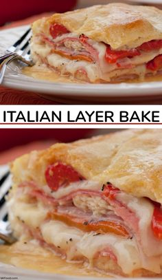 289 best our favorite weeknight dinners images on pinterest layers of cheesedeli meats and peppers come together in this amazing italian layer forumfinder Image collections
