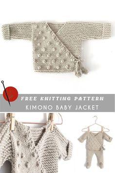 Modèle Kimono Baby Free Pattern et Tutoriel  #Baby #Free #kimono #Modèle #Pattern #tutoriel