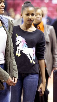 Happy 13th Birthday, Sasha Obama! Look Back at the First Daughter's Style Evolution - no title - from InStyle.com