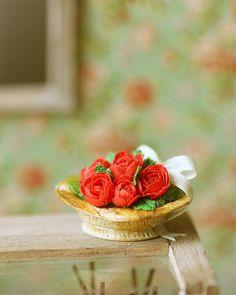 Red Roses Arrangement for Ruki's Bakery