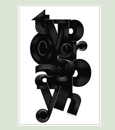 22 Fascinating Typography Design and Illustration