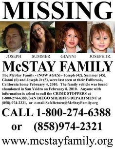 1/20/2013: Still missing, please share: pinned with Pinvolve  ~   Has this family been found?  I remember hearing about this.