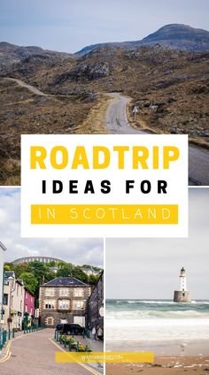 See the best of Scotland from the roadside with these 16 road trip itineraries for Scotland's most scenic drives. Sightseeing London, Best Of Scotland, Scotland Travel Guide, Beautiful Roads, Road Trippers, Highlands, Dom, Glasgow, Travel Tips
