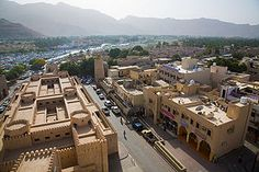 Nizwa (Arabic: نزوى) is the largest city in the Ad Dakhiliyah Region in Oman and was the capital of Oman proper. Nizwa is about 140 km (1.5 hours) from Muscat. Nizwa is one of the oldest cities in Oman and it was once a center of trade, religion, education and art. Its Jama (grand mosque) was formerly a center for Islamic learning. Nizwa acquired its importance because it has been an important meeting point at the base of the Western Hajar Mountains.