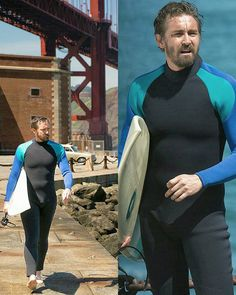 I think I'm the one that needs the wetsuit!