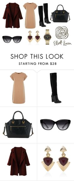 """""""Fall Date Night"""" by elliottlucca ❤ liked on Polyvore featuring Elizabeth and James, White House Black Market and Marc by Marc Jacobs"""