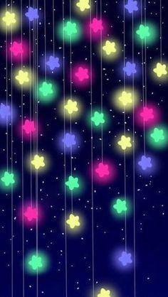 Fondo de pantalla de estrellitas brillantes / wallpaper of brilliant stars: