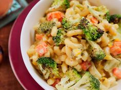 Roasted Vegetable and Truffle Mac 'n Cheese recipe from Damaris Phillips via Food Network