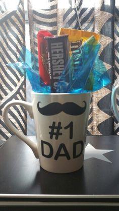 #1 Dad, father's day mug
