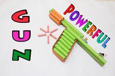 How to Make a Paper Gun That Shoots Paper Bullets | Easy Tutorials