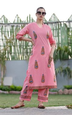 Taj Cotton fabric kurta with original block print and paint style bottom, Sleeves in pattern Size m to xxl Pure cotton suit for daily and office wear Cotton Suit, Cotton Fabric, Fabric Painting, Office Wear, Cold Shoulder Dress, Suits, The Originals, Sleeves, Pattern