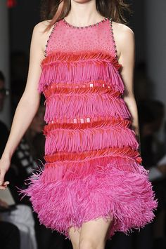 Peter Som...This reminds me of a dance costume I made for my dtr when she was about 5 years old...