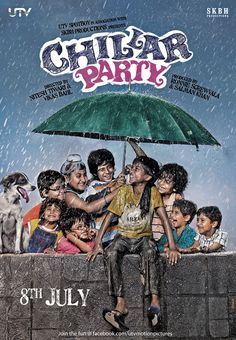 CHILLAR PARTY by Swapnil Rane, won the 2011 award for best children's movie in India.
